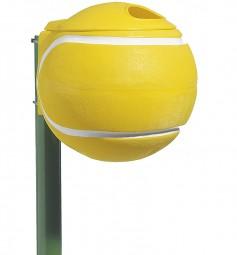 Abfallbehälter Tennisball
