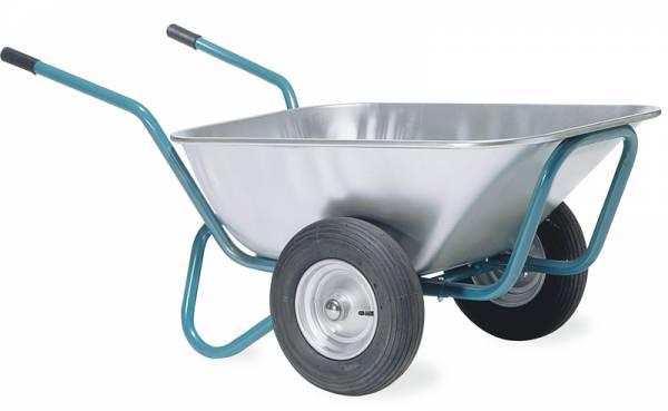 Schubkarre mit zwei Reifen - Ziegelmehlkuli